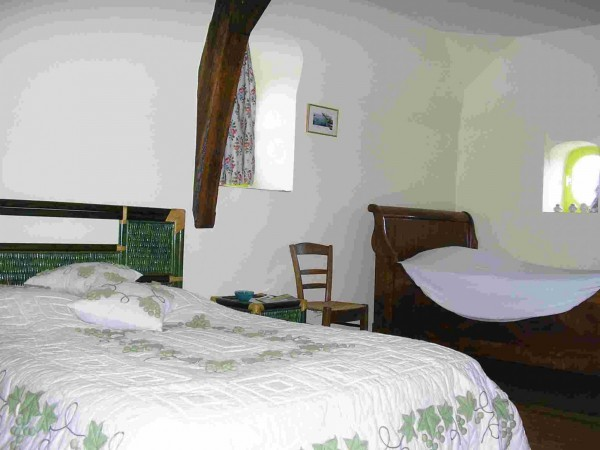 Chambre d 39 h tes le ch teau de l 39 aul e chambre d 39 h tes for Azay le rideau chambre d hote