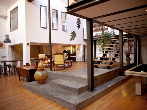 Chambre d 39 h tes vasion loft chambre d 39 h tes lyon for Photo maison loft