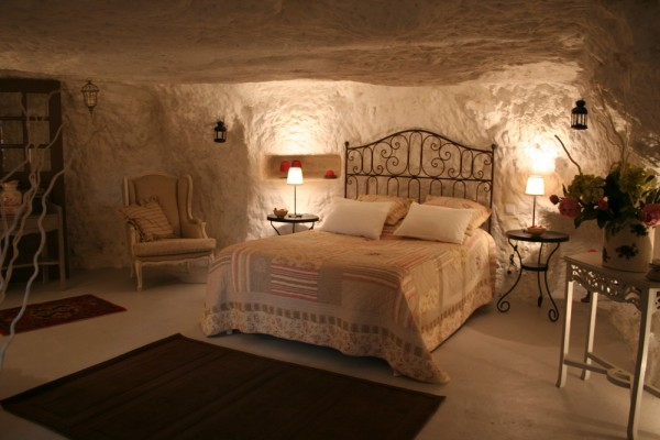 Chambre d 39 h tes les sentini res chambre d 39 h tes vouvray - Chambre troglodyte saumur ...