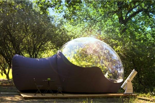 Chambre d 39 h tes maisons bulles chambre d 39 h tes pont for Maison en bulle