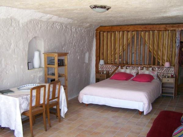 chambre d 39 h tes troglod lice chambre d 39 h tes azay le rideau. Black Bedroom Furniture Sets. Home Design Ideas