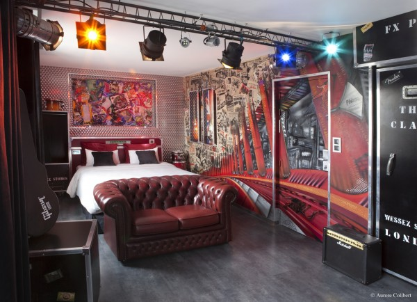 déco chambre rock n roll