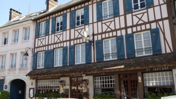 Hôtel La Licorne, Hôtel Lyons-la-Forêt