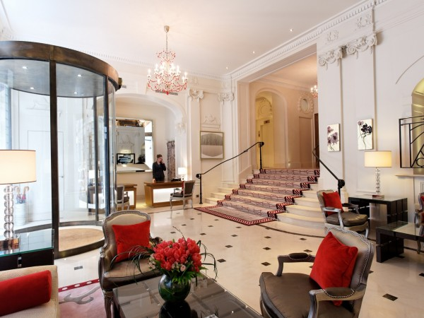 H tel villa h tel majestic h tel paris for Hotel design 5 etoiles paris
